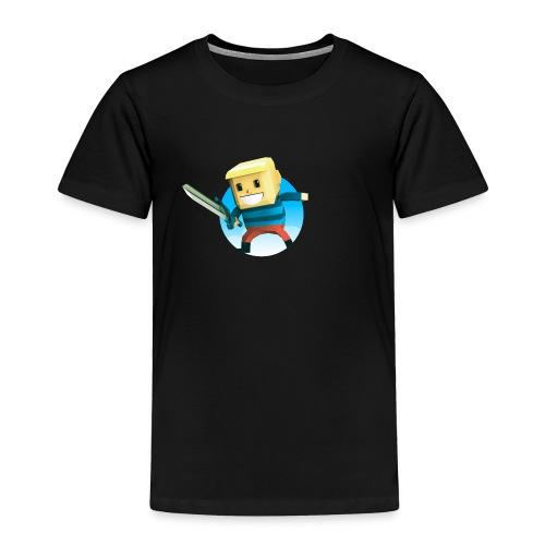 BlockBoy Swordsman - Toddler Premium T-Shirt