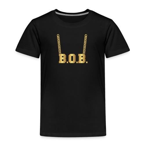 Real Notorious B.O.B. Size - Toddler Premium T-Shirt