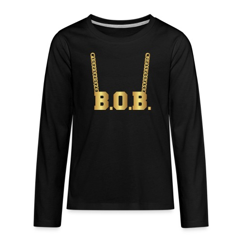 Real Notorious B.O.B. Size - Kids' Premium Long Sleeve T-Shirt