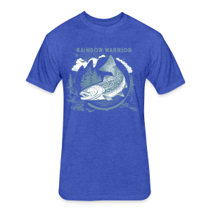 Rainbow Warrior - Fitted Cotton/Poly T-Shirt by Next Level