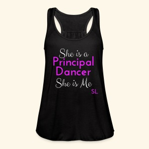 Ballerina Principal Dancer Dance T shirt by Stephanie Lahart  - Women's Flowy Tank Top by Bella
