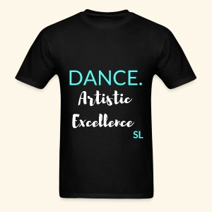Artistic Excellence Dance Shirt by Stephanie Lahart - Men's T-Shirt