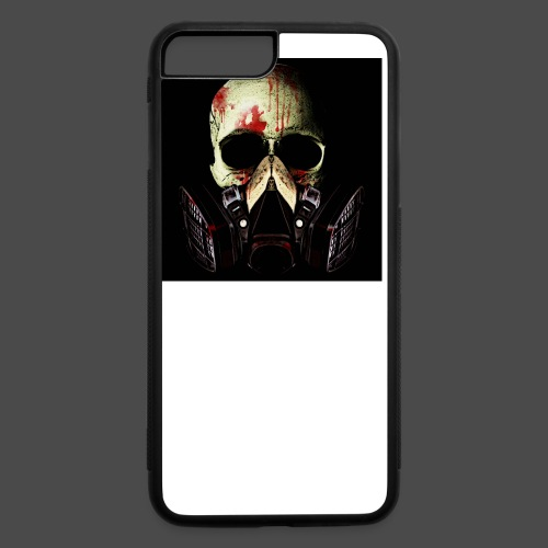 Khan Blood Skull iPad 2/3 Case - iPhone 7 Plus/8 Plus Rubber Case