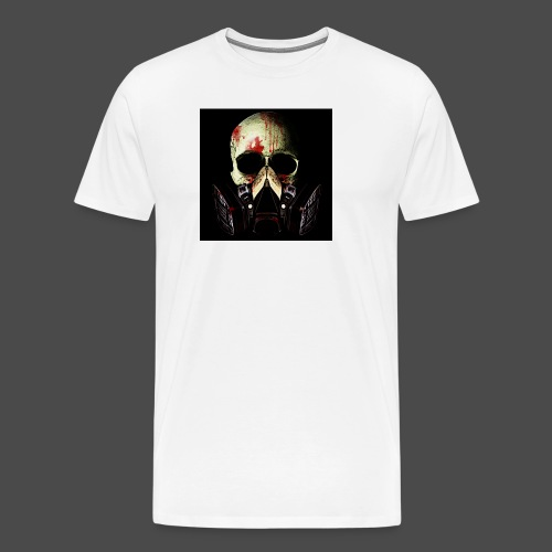 Khan Blood Skull iPad 2/3 Case - Men's Premium T-Shirt
