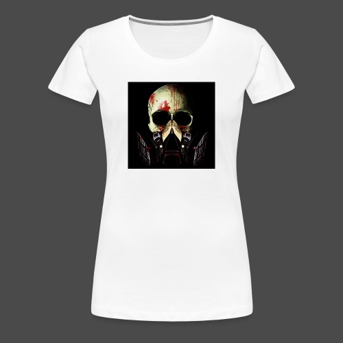 Khan Blood Skull iPad 2/3 Case - Women's Premium T-Shirt