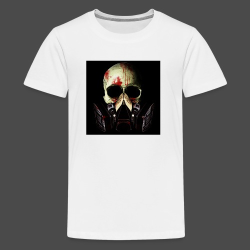 Khan Blood Skull iPad 2/3 Case - Kids' Premium T-Shirt