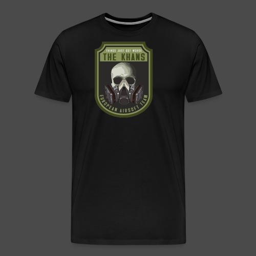 Khans European Airsoft Team Men's T-Shirt - Men's Premium T-Shirt