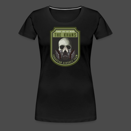 Khans European Airsoft Team Men's T-Shirt - Women's Premium T-Shirt