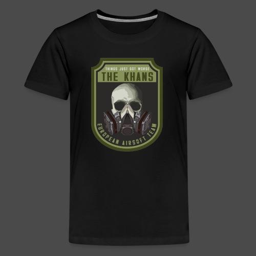 Khans European Airsoft Team Men's T-Shirt - Kids' Premium T-Shirt