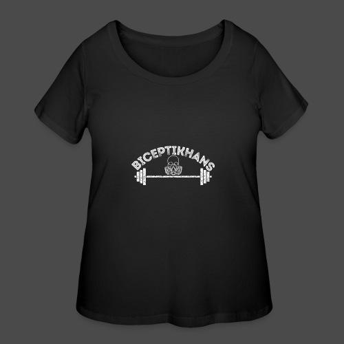BICEPTIKHANS Apron - Women's Curvy T-Shirt