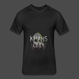 Khans Only Apron - Fitted Cotton/Poly T-Shirt by Next Level