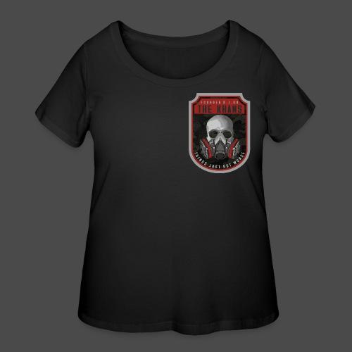 Khans Camo Badge Men's T-Shirt - Women's Curvy T-Shirt
