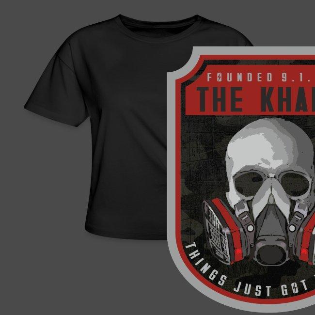 Khans Camo Badge Men's T-Shirt