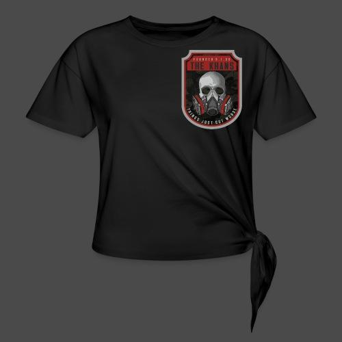 Khans Camo Badge Men's T-Shirt - Women's Knotted T-Shirt