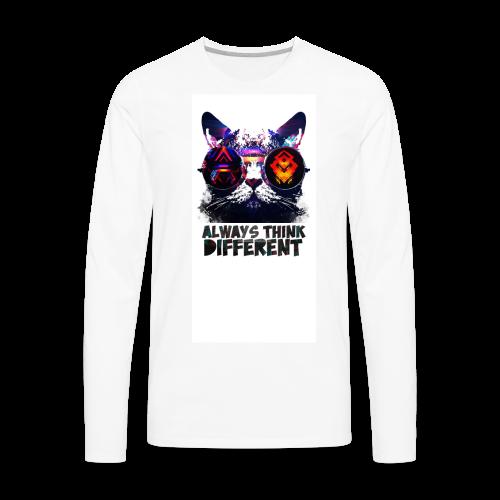 ThinkDiff_tee - Men's Premium Long Sleeve T-Shirt