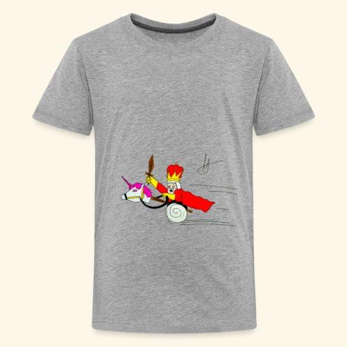 The king - Kids' Premium T-Shirt