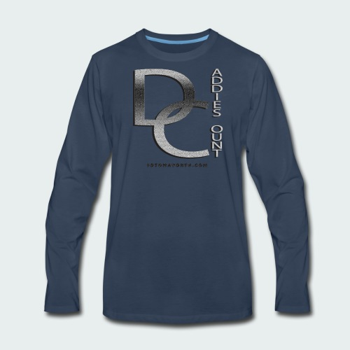 Daddie Count - Men's Premium Long Sleeve T-Shirt