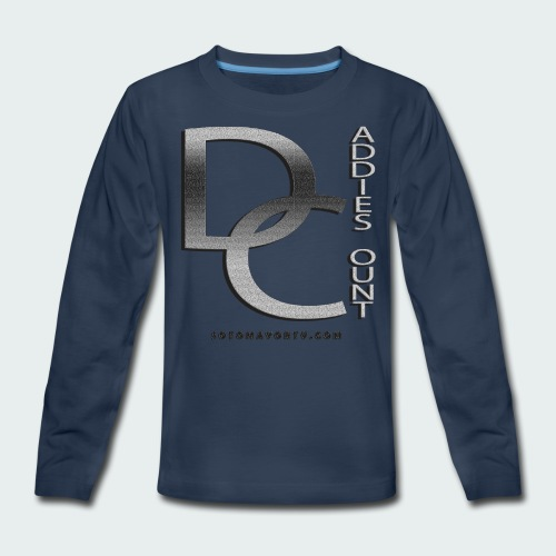 Daddie Count - Kids' Premium Long Sleeve T-Shirt