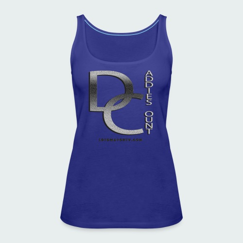 Daddie Count - Women's Premium Tank Top