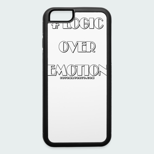 Logic Over Emotion - iPhone 6/6s Rubber Case