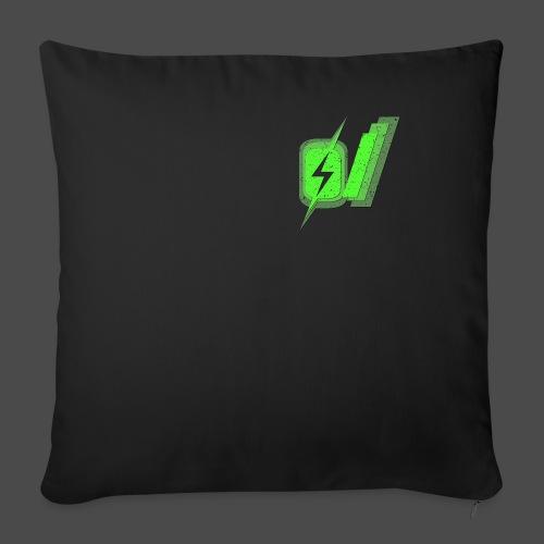 "O Slash Men's T-Shirt - Throw Pillow Cover 18"" x 18"""