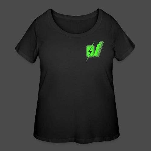 O Slash Men's T-Shirt - Women's Curvy T-Shirt