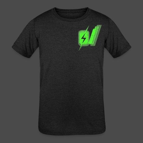 O Slash Men's T-Shirt - Kids' Tri-Blend T-Shirt