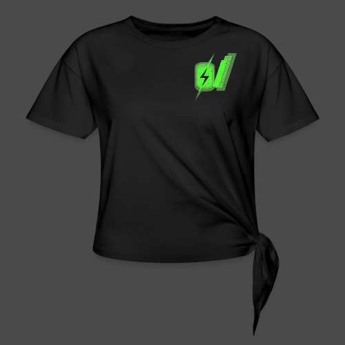 O Slash Men's T-Shirt - Women's Knotted T-Shirt