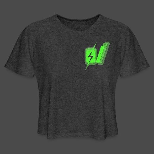 O Slash Men's T-Shirt - Women's Cropped T-Shirt