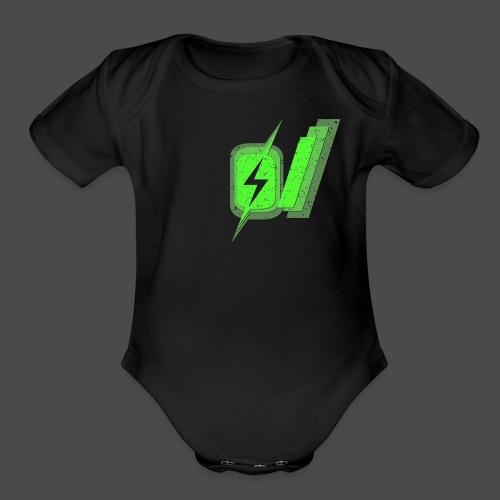 O Slash Men's T-Shirt - Organic Short Sleeve Baby Bodysuit