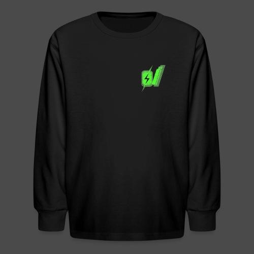 O Slash Men's T-Shirt - Kids' Long Sleeve T-Shirt