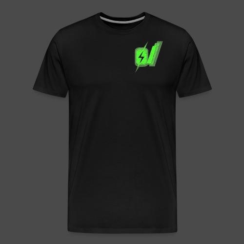 O Slash Men's T-Shirt - Men's Premium T-Shirt