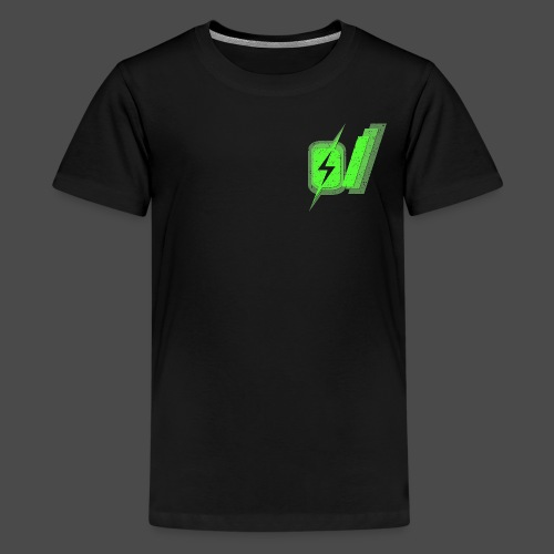 O Slash Men's T-Shirt - Kids' Premium T-Shirt