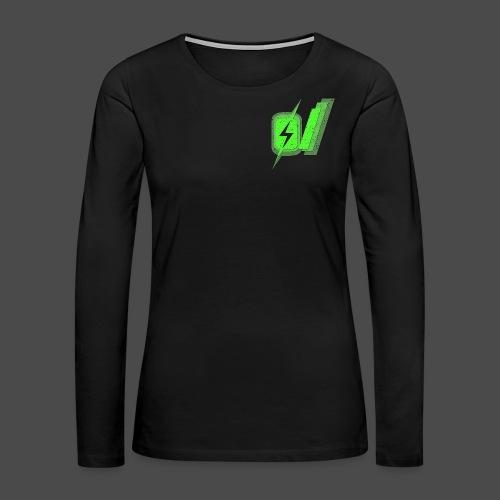 O Slash Men's T-Shirt - Women's Premium Long Sleeve T-Shirt