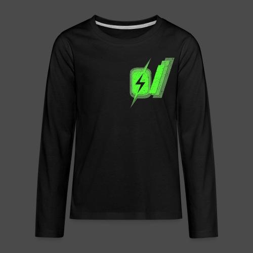 O Slash Men's T-Shirt - Kids' Premium Long Sleeve T-Shirt
