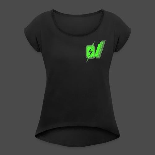 O Slash Men's T-Shirt - Women's Roll Cuff T-Shirt