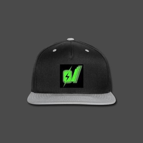 O Slash Small Buttons (5 Pack) - Snap-back Baseball Cap