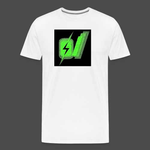 O Slash Small Buttons (5 Pack) - Men's Premium T-Shirt