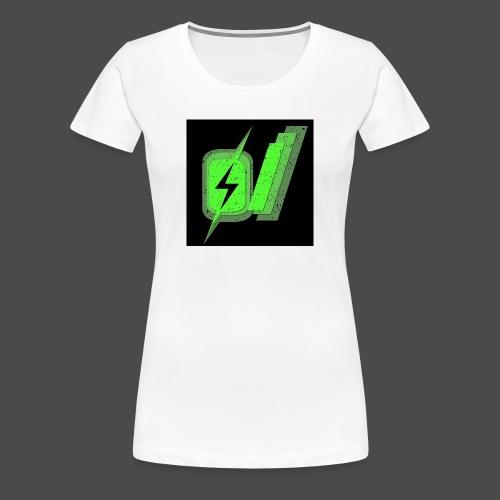 O Slash Small Buttons (5 Pack) - Women's Premium T-Shirt
