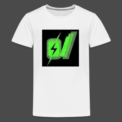 O Slash Small Buttons (5 Pack) - Kids' Premium T-Shirt
