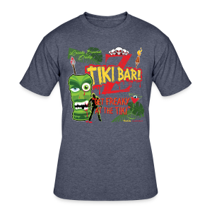 Z Tiki Bar - Men's 50/50 T-Shirt