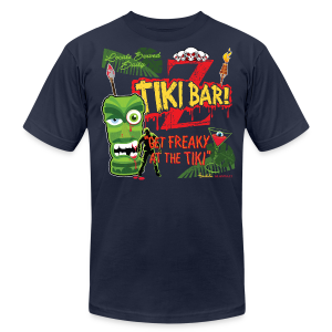 Z Tiki Bar - Men's T-Shirt by American Apparel