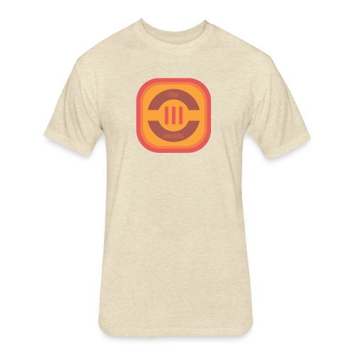 Life Awaits Men's Premium T-Shirt - Fitted Cotton/Poly T-Shirt by Next Level