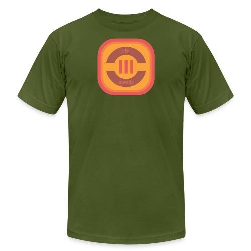Life Awaits Men's Premium T-Shirt - Men's Fine Jersey T-Shirt