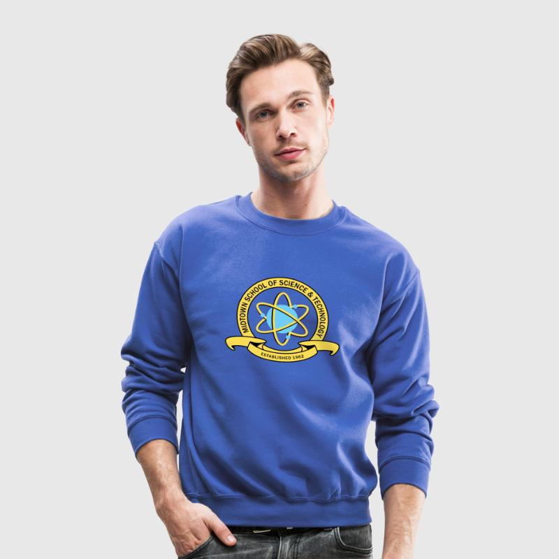 MIDTOWN SCHOOL SCIENCE & TECHNOLOGY Long Sleeve Shirts - Crewneck Sweatshirt