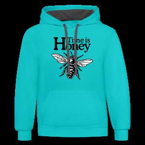 Time is Honey Beekeeper T-Shirt - Contrast Hoodie