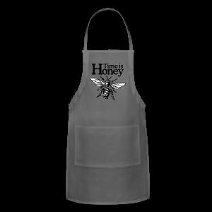 Time is Honey Beekeeper T-Shirt - Adjustable Apron