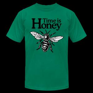 Time is Honey Beekeeper T-Shirt - Men's Fine Jersey T-Shirt