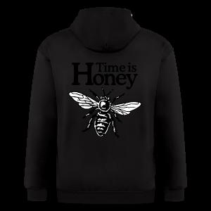 Time is Honey Beekeeper T-Shirt - Men's Zip Hoodie