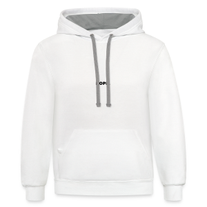 Nope Funny Quote - Contrast Hoodie